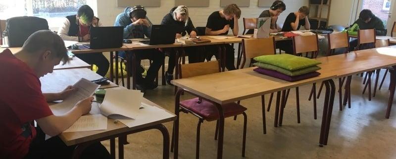 Elever i klassen
