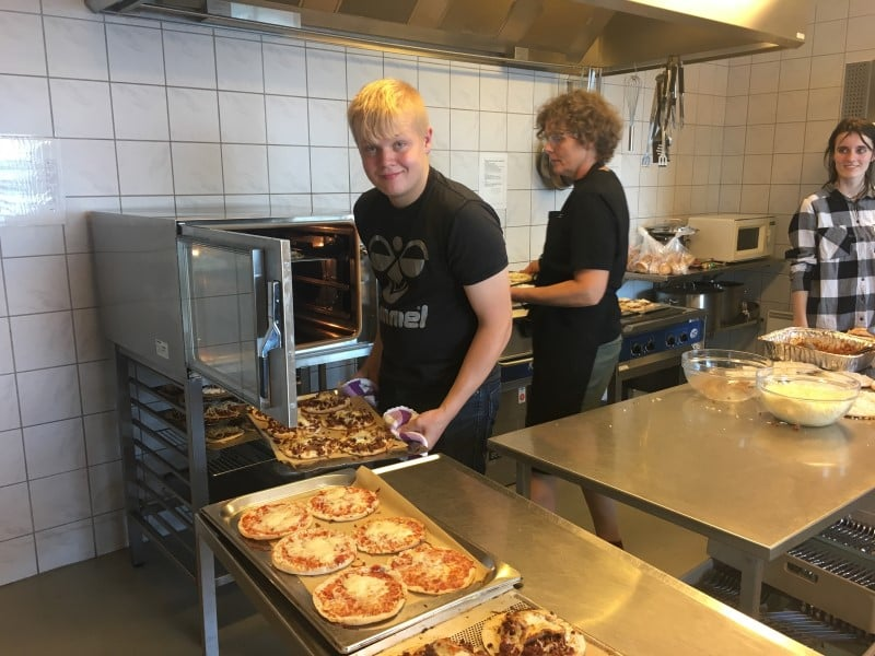 Pizzabagning